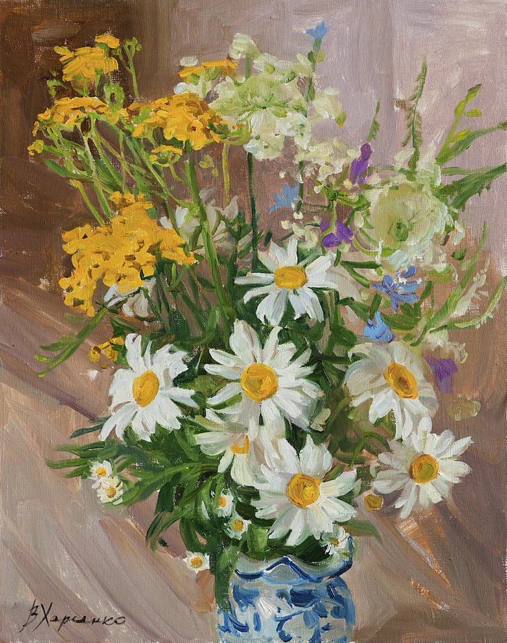 Daisy Season Painting