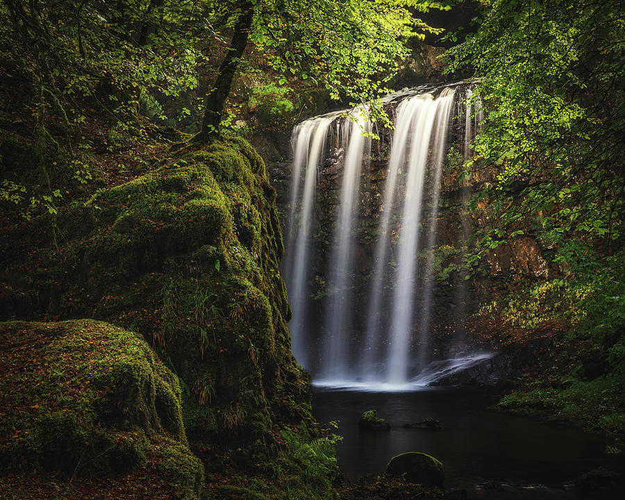 River Photograph - Dalcairney Falls by Raymond Carruthers