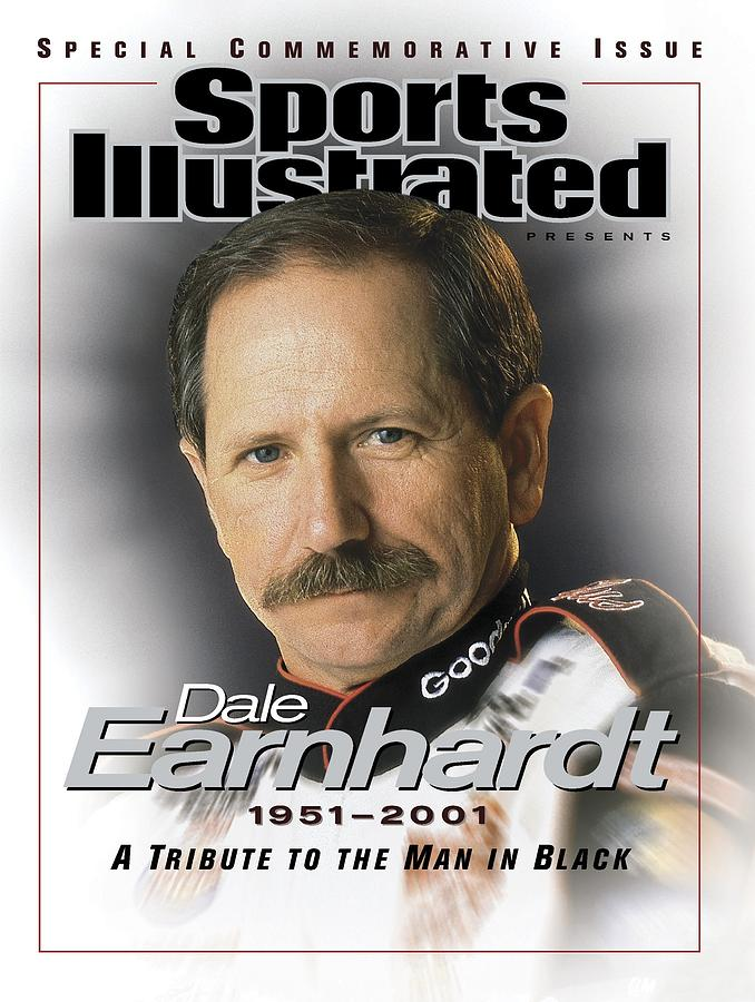 Dale Earnhardt, 1951 - 2001 A Tribute To The Man In Black Sports Illustrated Cover Photograph by Sports Illustrated