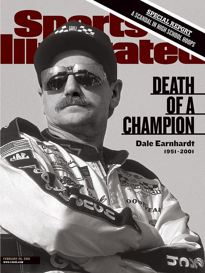 Dale Earnhardt, 1993 Hooters 500 Sports Illustrated Cover Photograph by Sports Illustrated