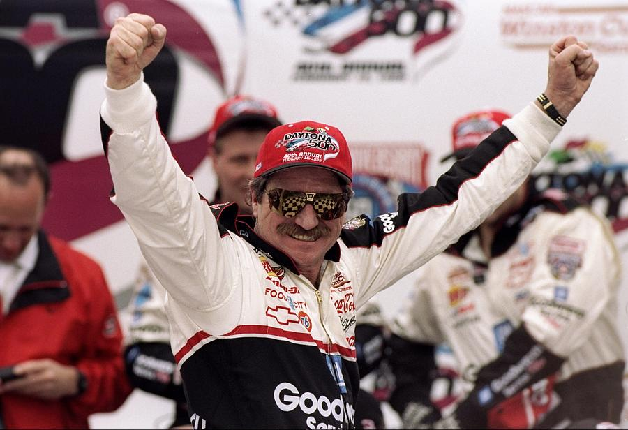 Dale Earnhardt Photograph by David Taylor