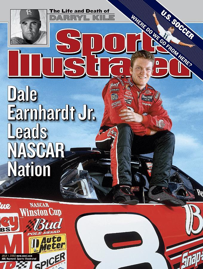 Dale Earnhardt Jr, Nascar Driver Sports Illustrated Cover Photograph by Sports Illustrated