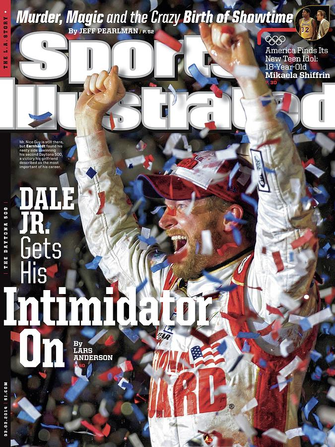 Dale Jr. Gets His Intimidator On Sports Illustrated Cover Photograph by Sports Illustrated