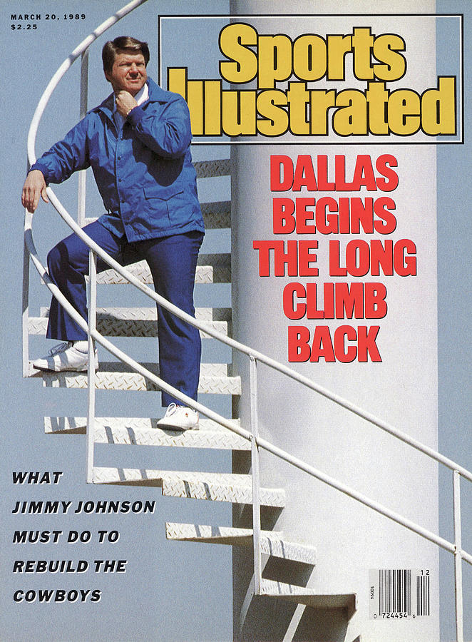 Dallas Begins The Long Climb Back Sports Illustrated Cover Photograph by Sports Illustrated
