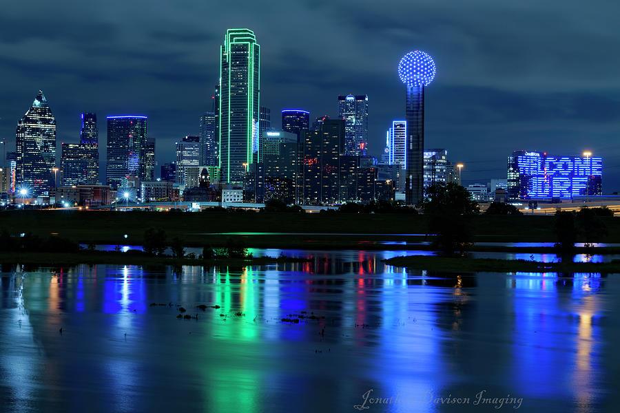 Dallas Blue Hour by Jonathan Davison