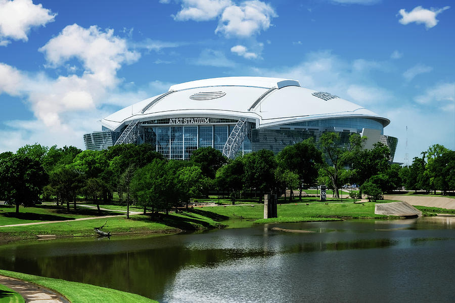 Dallas Cowboys ATT Stadium Arlington Texas by Robert Bellomy