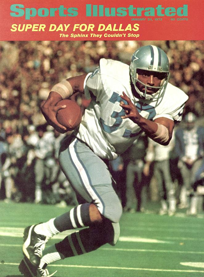 Dallas Cowboys Duane Thomas, Super Bowl Vi Sports Illustrated Cover Photograph by Sports Illustrated