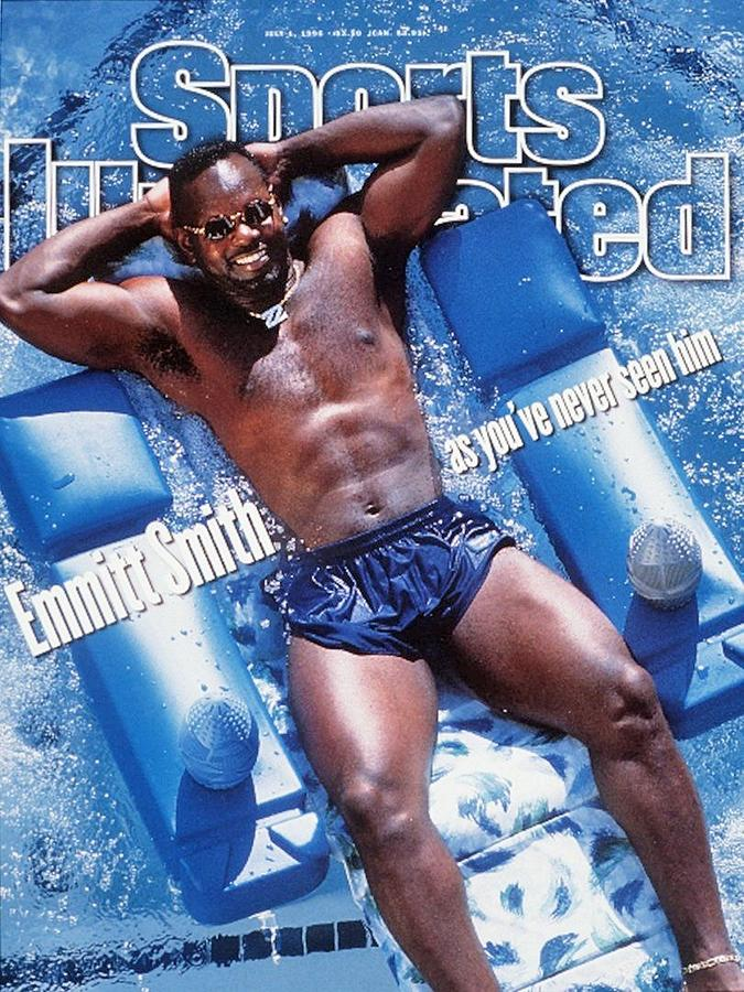 Dallas Cowboys Emmitt Smith Sports Illustrated Cover Photograph by Sports Illustrated