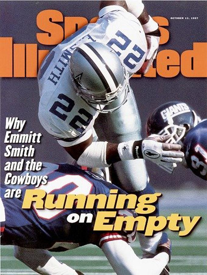 Dallas Cowboys Emmitt Smith... Sports Illustrated Cover Photograph by Sports Illustrated