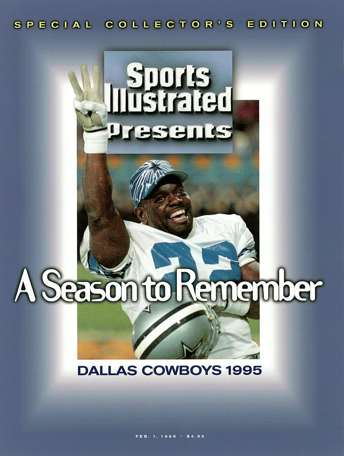 Dallas Cowboys Emmitt Smith, Super Bowl Xxx Sports Illustrated Cover Photograph by Sports Illustrated