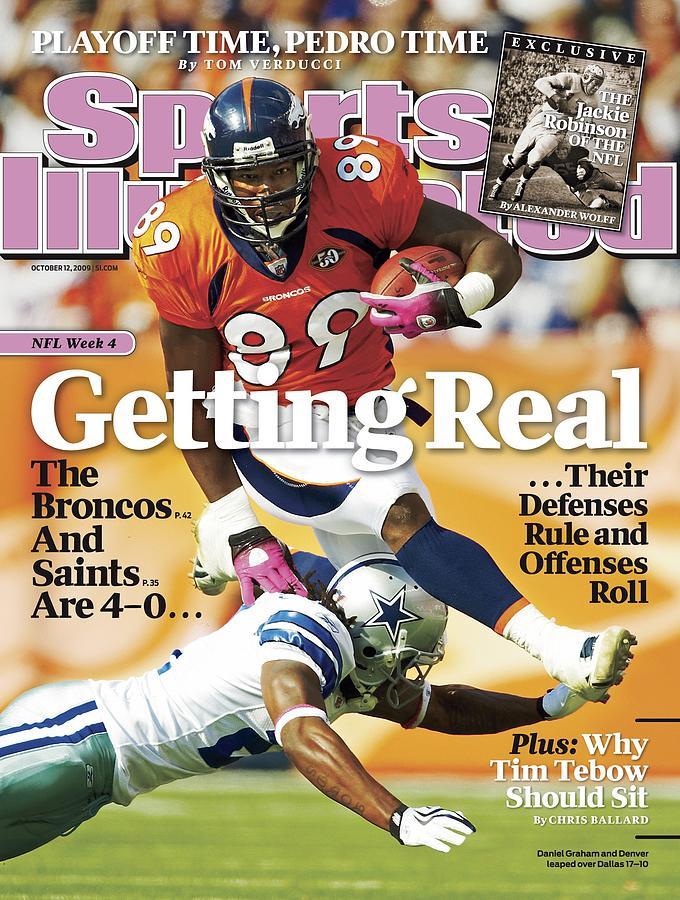 Dallas Cowboys V Denver Broncos Sports Illustrated Cover Photograph by Sports Illustrated