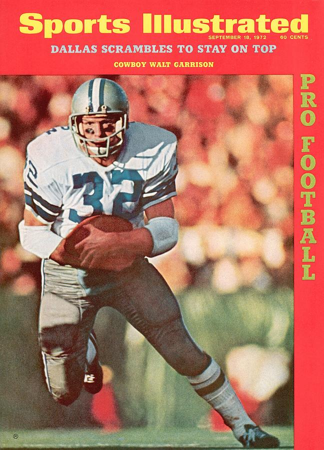 Dallas Cowboys Walt Garrison, Super Bowl Vi Sports Illustrated Cover Photograph by Sports Illustrated