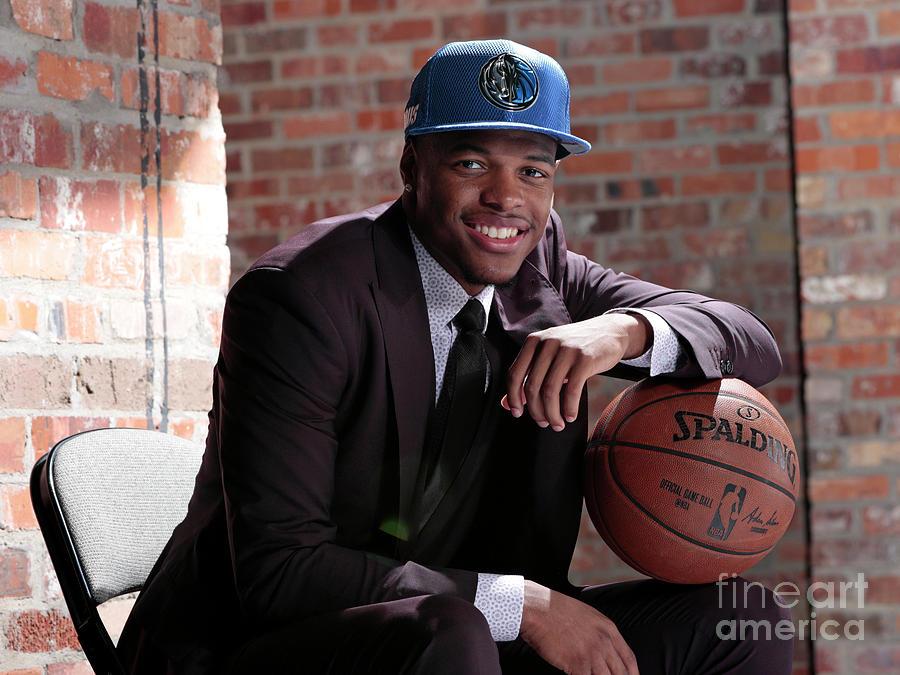Dallas Mavericks Introduce Dennis Smith Photograph by Glenn James
