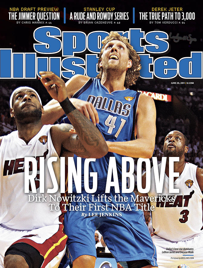 Dallas Mavericks V Miami Heat - Game Six Sports Illustrated Cover Photograph by Sports Illustrated