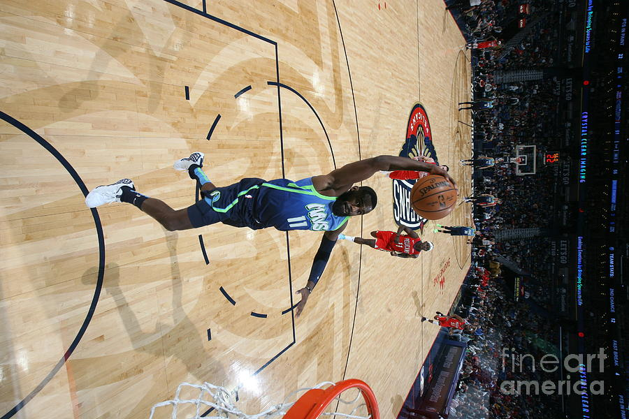 Dallas Mavericks V New Orleans Pelicans Photograph by Layne Murdoch Jr.