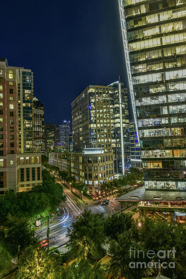 Dallas Night Life Two Photograph