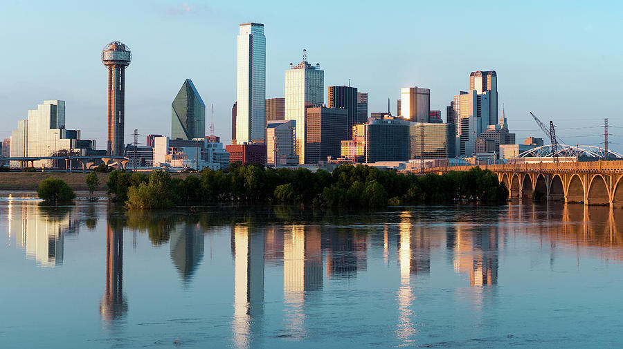 Dallas Skyline 041719 by Rospotte Photography