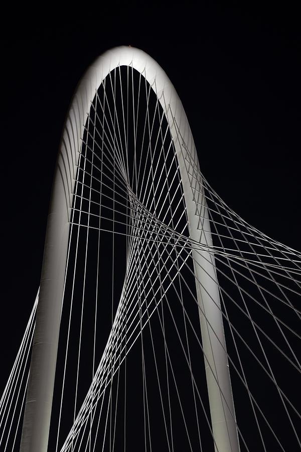 Dallas' Suspension Bridge Cables Photograph by Dhughes9