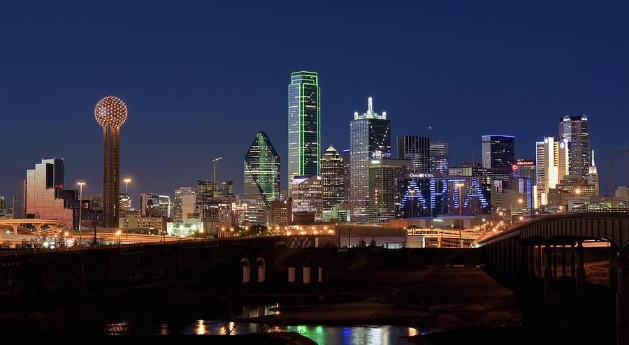 Dallas Texas Skyline 071219 by Rospotte Photography