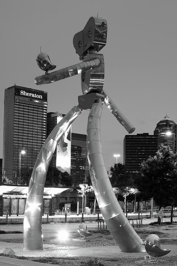 Dallas Texas Traveling Man Deep Ellum 062319 by Rospotte Photography