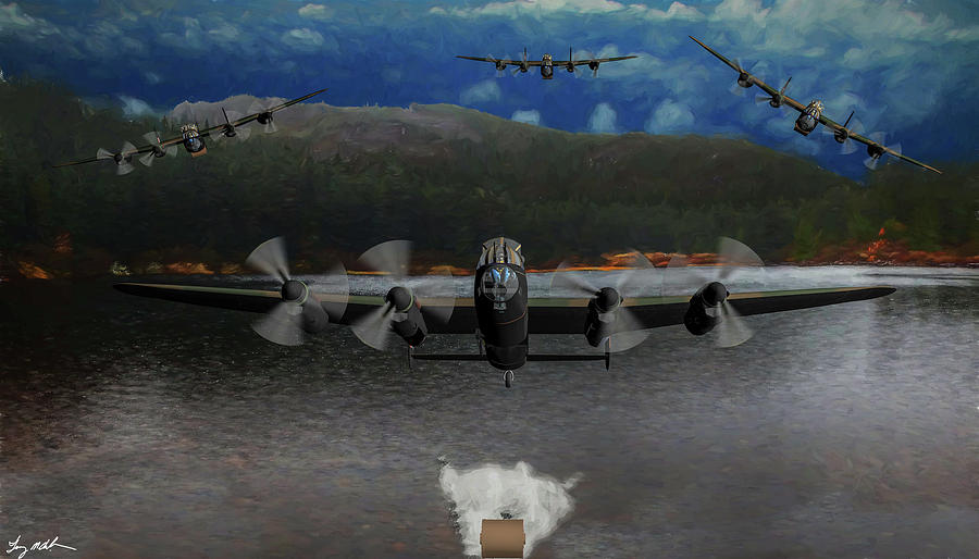 Dam Busters- Oil  by Tommy Anderson