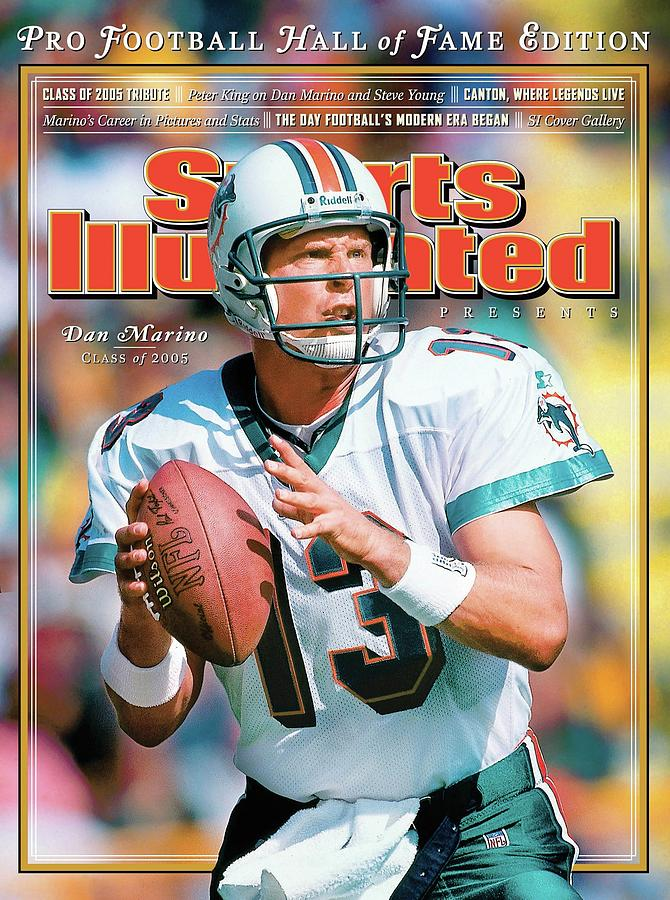 Dan Marino Hall Of Fame Class Of 2005 Sports Illustrated Cover Photograph by Sports Illustrated