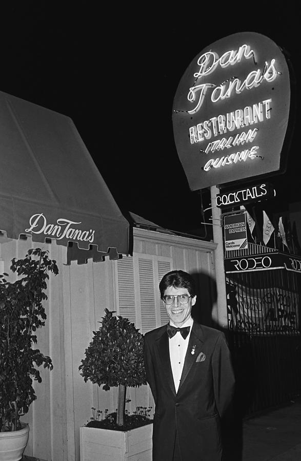 Dan Tanas Los Angeles Restaurant To The Photograph by George Rose