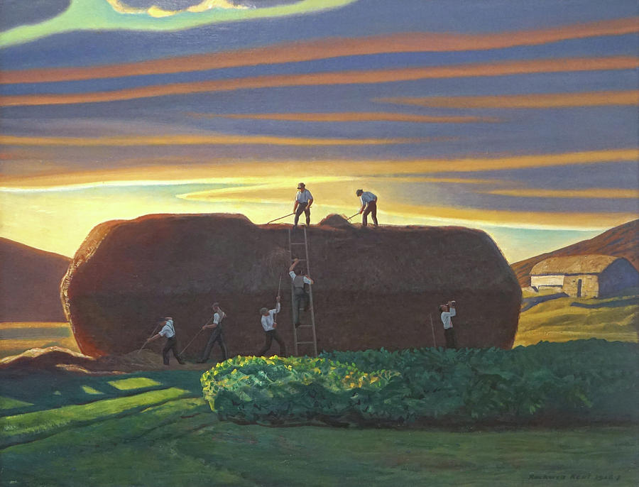 Ireland Painting - Dan Wards Stack Ireland by Rockwell Kent