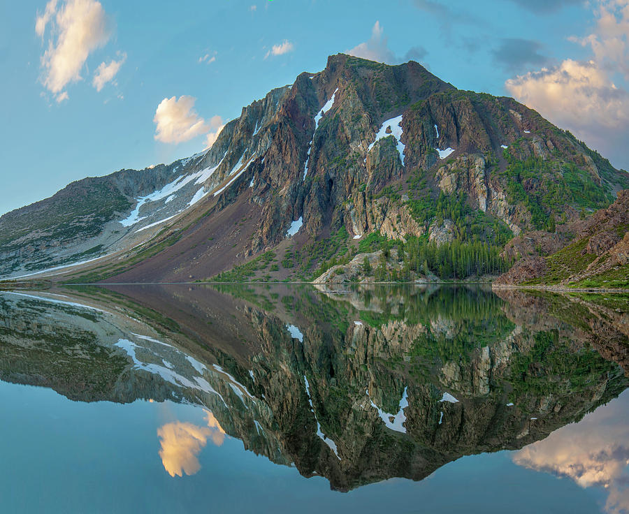 Mp Photograph - Dana Plateau From Ellery Lake, Sierra by Tim Fitzharris