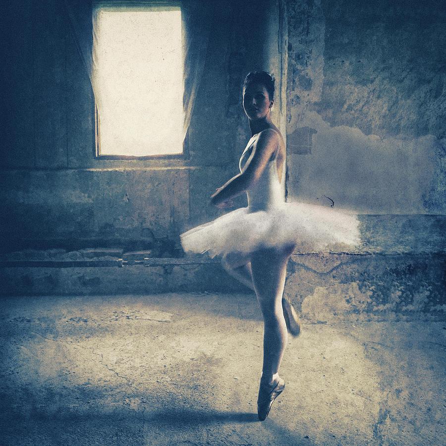 Concrete Photograph - Dance Audition by Roswitha Schleicher-schwarz