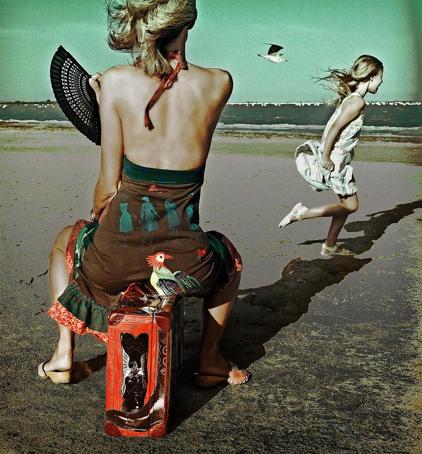 People Photograph - Dance! Little Bird... by Ambra