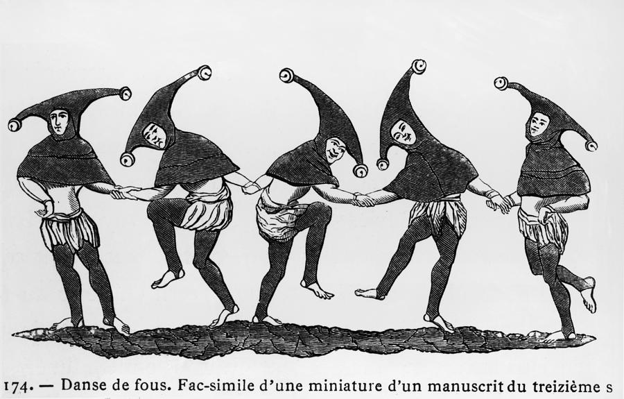 Dance Of The Fools Photograph by Hulton Archive