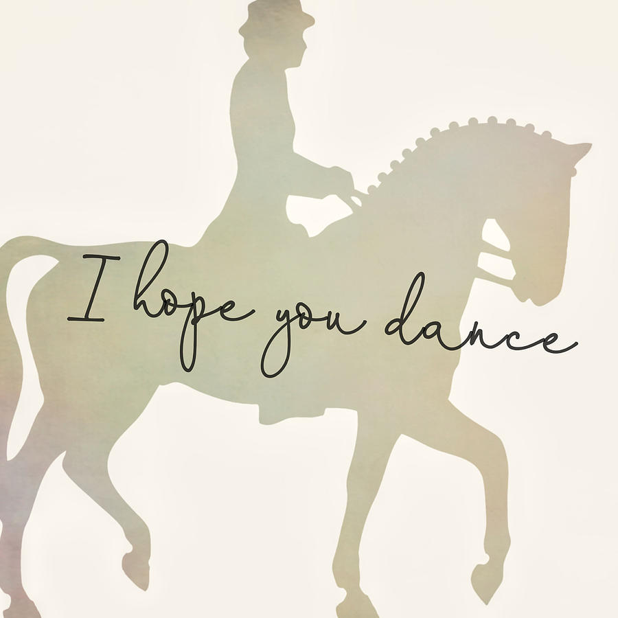 DANCE PARTNER quote by Dressage Design