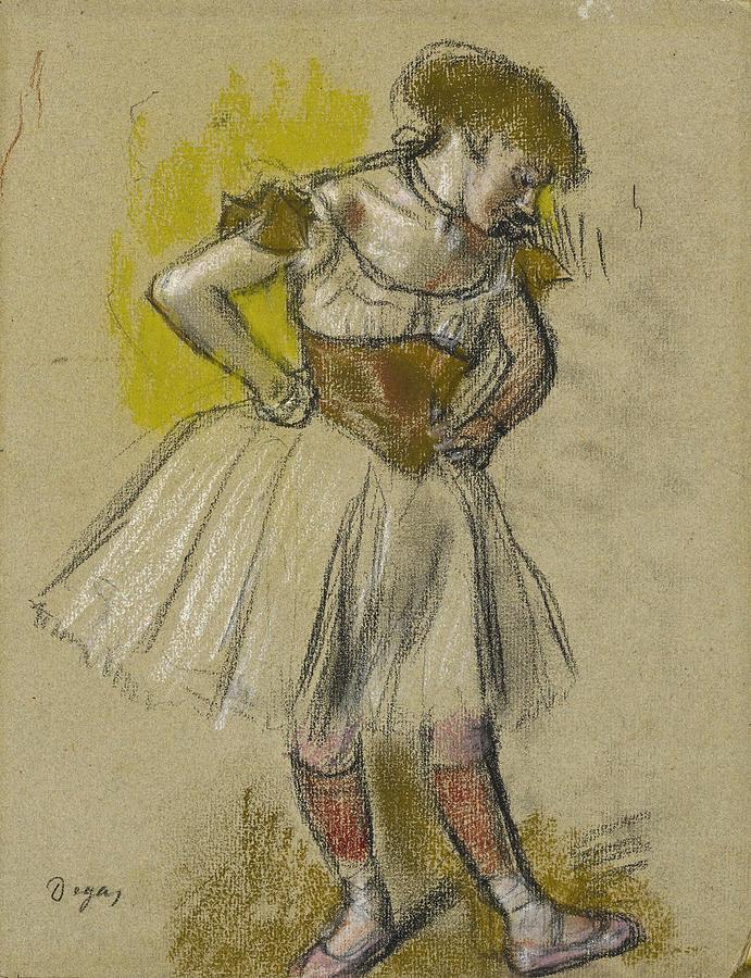 Dancer 2 by Edgar Degas