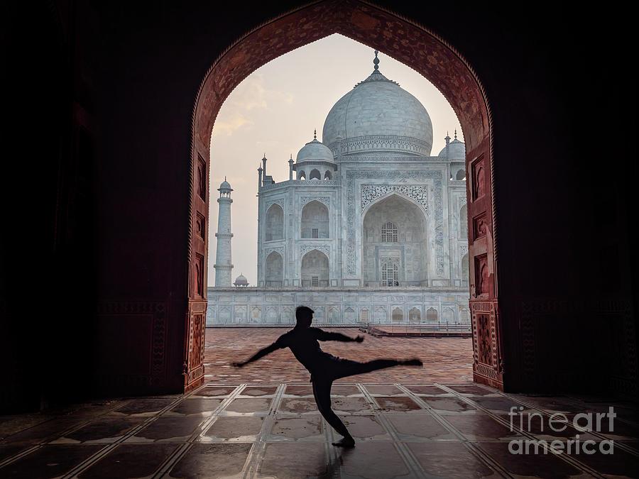 Dancer At The Taj by Robin Zygelman