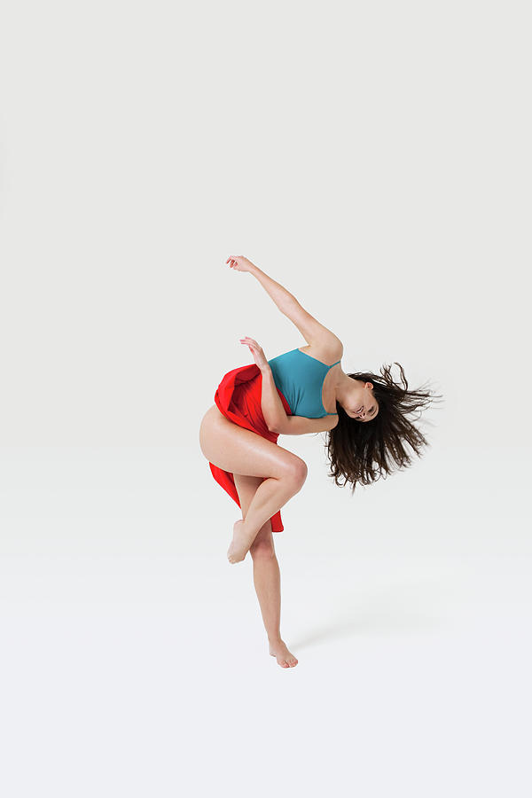Dancer In Pose Photograph by Image Source