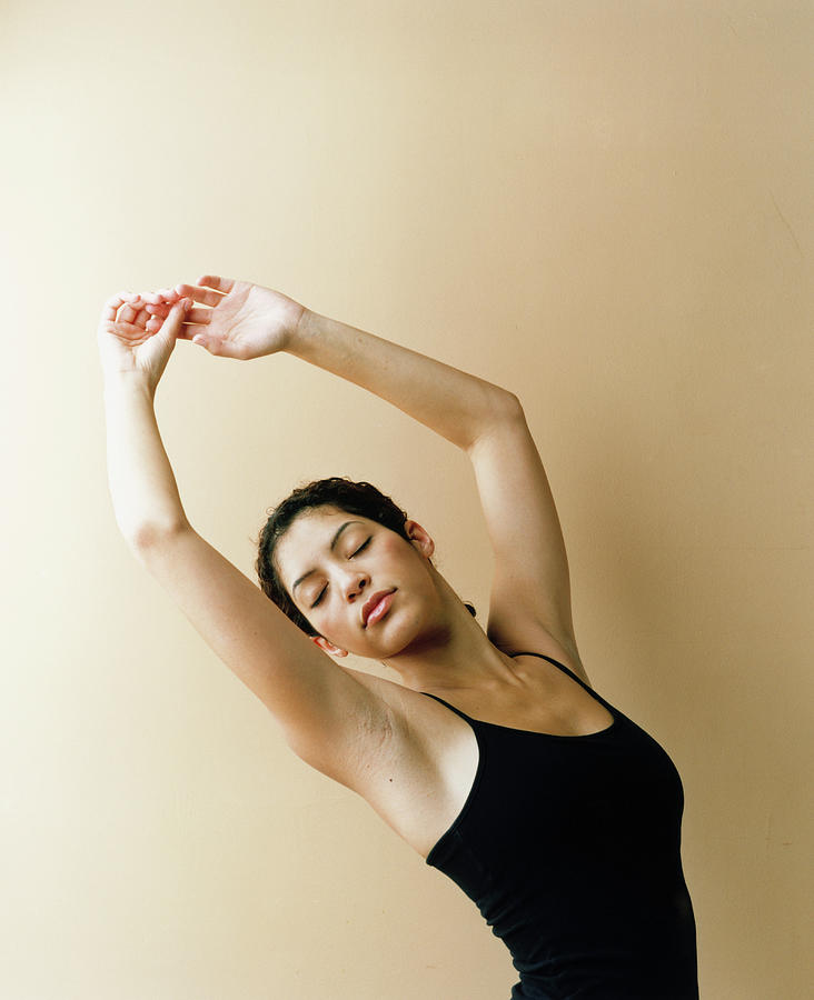 Dancer With Arms Raised Photograph by Lisa Spindler Photography Inc.