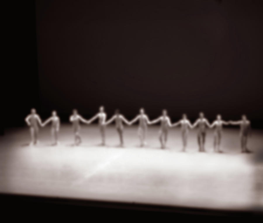 Dancers On Stage Photograph by Grant Faint