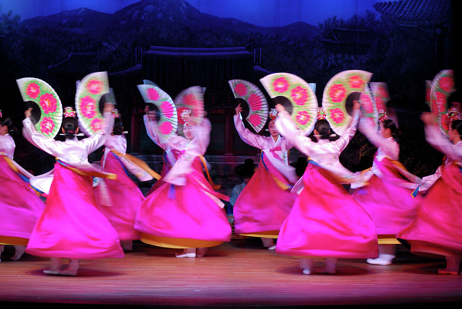 Dancers Performing At Korea House Photograph by Lonely Planet