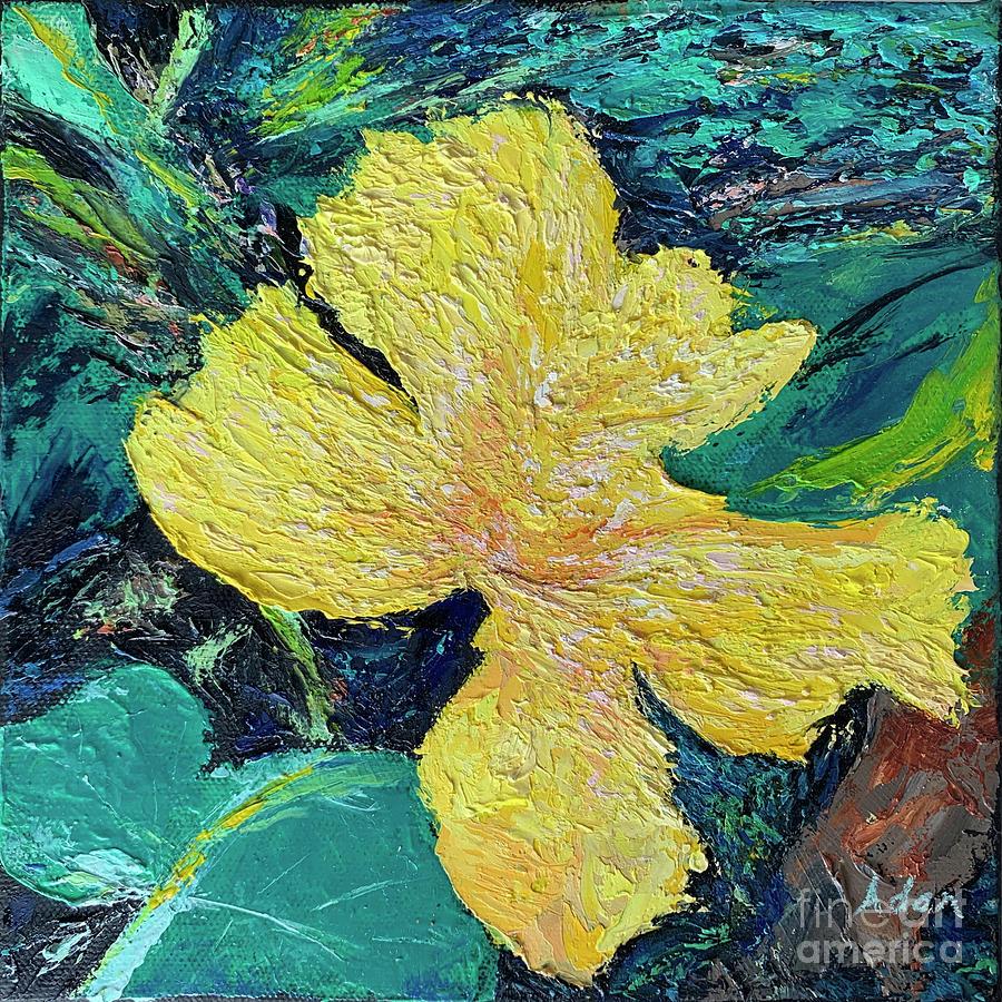 Licensing Painting - Dancing Flower by Felipe Adan Lerma