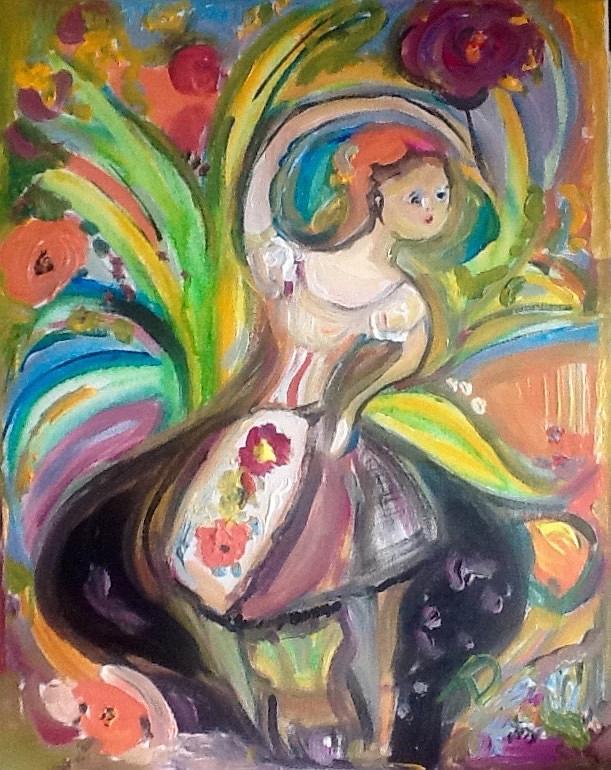Fine Art America & Dancing Flower In A Black Pot