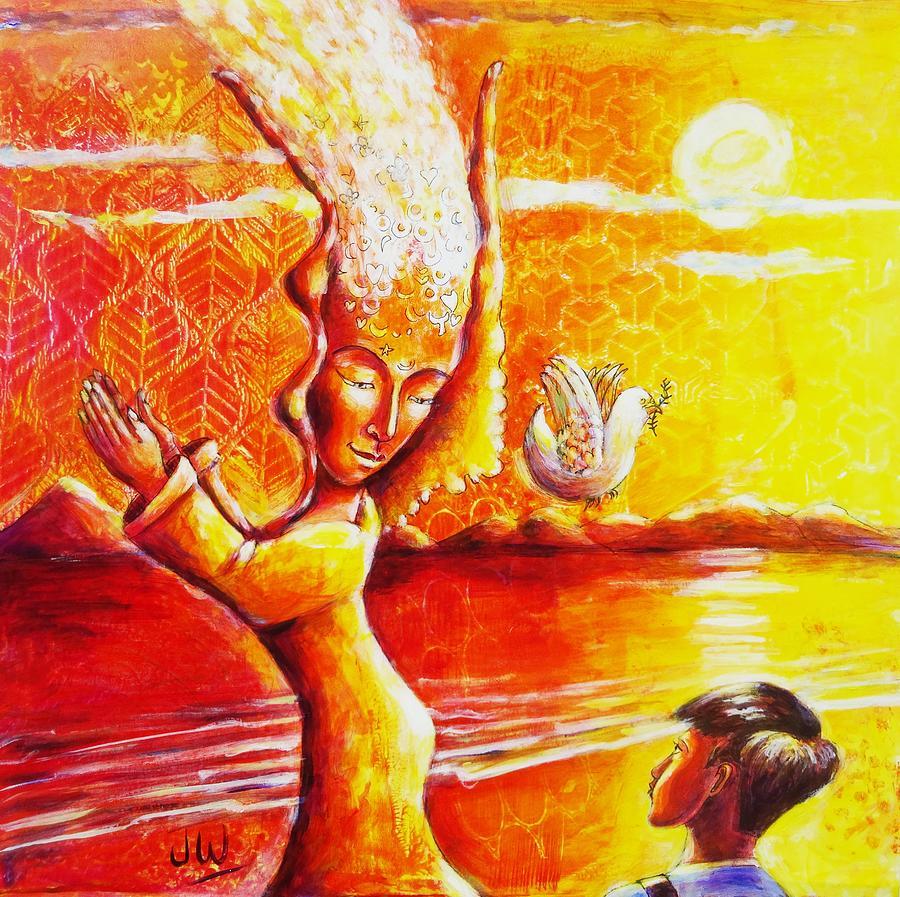 Dancing Hathor by June Walker