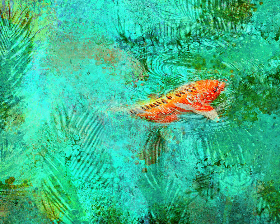 Dancing Koi by Sandra Selle Rodriguez