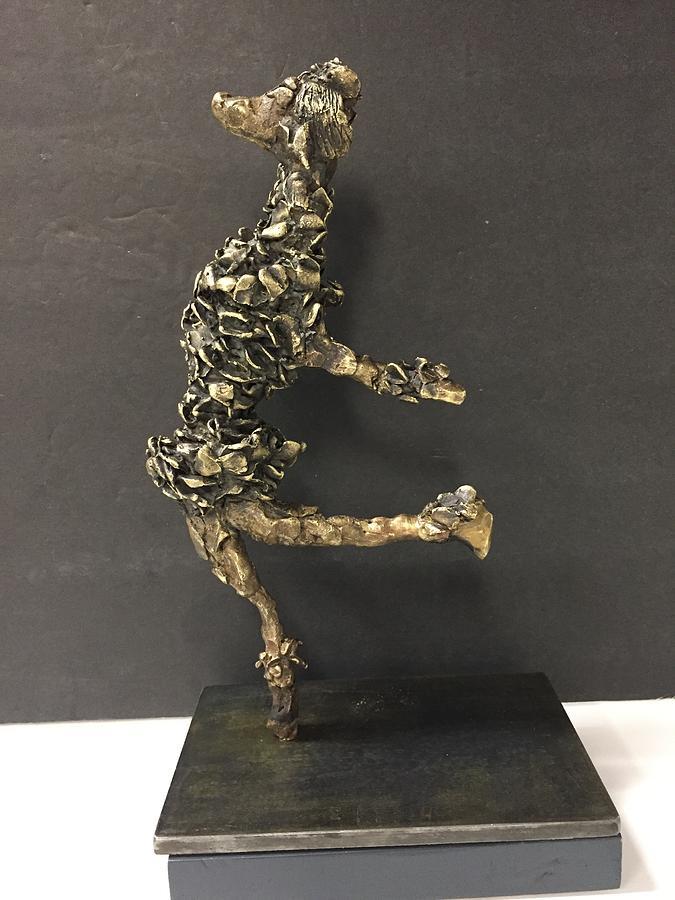 Dancing Poodle by Gail Eisenfeld