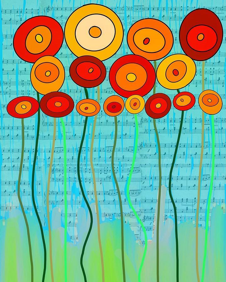 Dancing Poppies by Dora Ficher