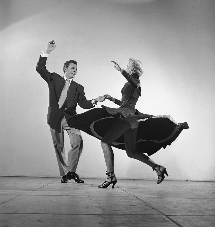 Dancing The Mambo Photograph by Loomis Dean