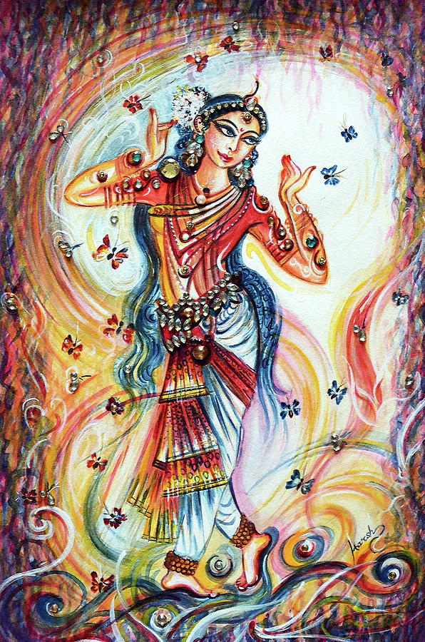 Dancing with butterflies by Harsh Malik