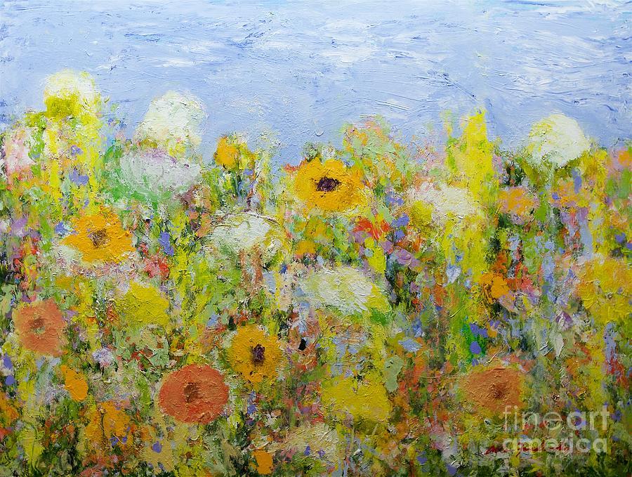 Dandelion Dust Painting