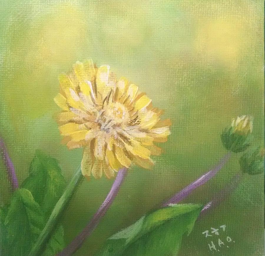 Dandelion  by Helian Osher