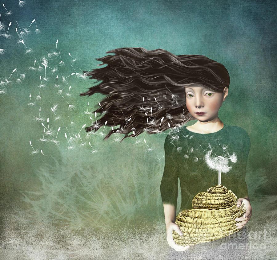 Resultado de imagen para dandelion, digital art